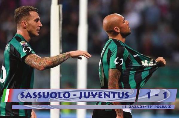 Simone Zaza torna al Gol contro la Juventus.
