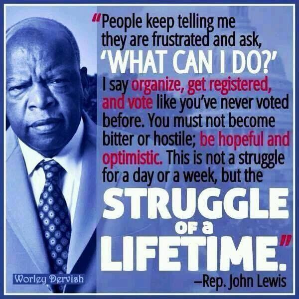 John Lewis Quotes: SCOTUS Allows Texas Voter Suppression.voter Id Law To Be