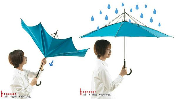【過去記事】その発想はなかった! 「強風に煽られてもめくれない傘」登場:ギズモード・ジャパンtwme.jp/GIZ/01Pr台風の日に活躍しそう。現在発売中です。 pic.twitter.com/KgKWWEYD1k