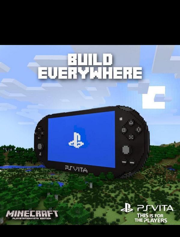 MINECRAFT PS VITA VitaMinecraft Twitter - Minecraft spiele fur ps vita