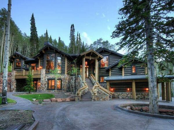 Architecture Design On Twitter Log Cabin In The Woods