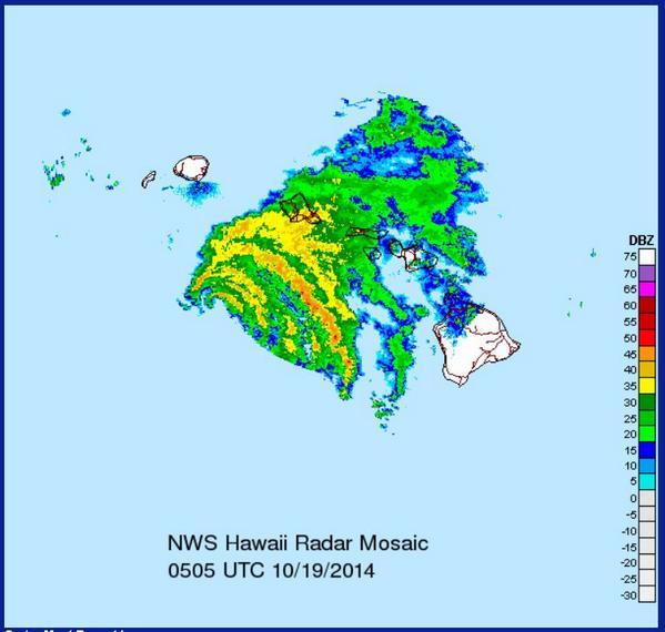 Ken H Rubin On Twitter Latest NWS Honolulu Doppler Radar - Hawaii radar doppler