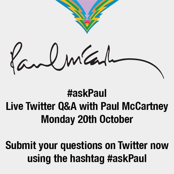 The Beatles Polska: Zadaj pytanie McCartneyowi - akcja #askPaul