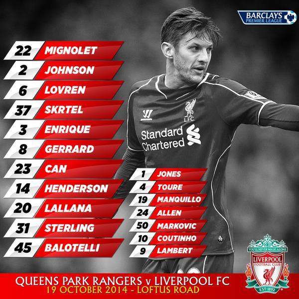 QPR v Liverpool B0TncaWIAAAOnCJ