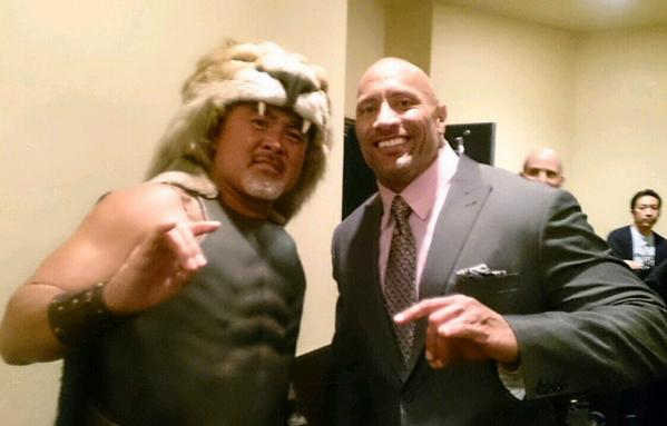 The Great Muta Shows Up At Hercules Premiere In Japan