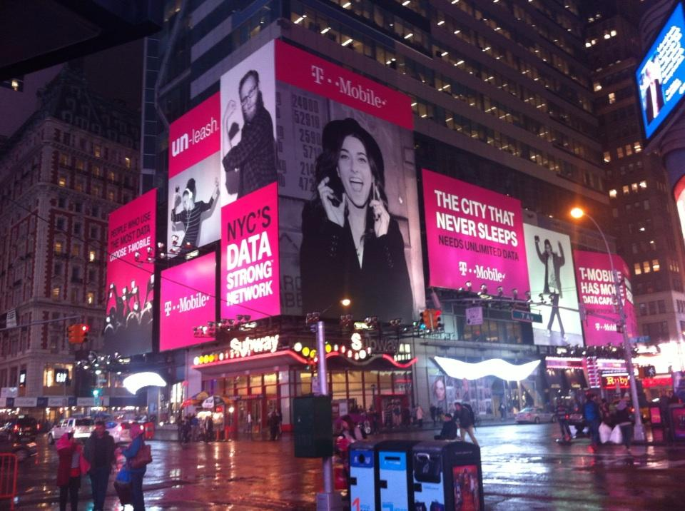 """brands &otherstories on Twitter: """"Seen at Times Square NYC ..."""