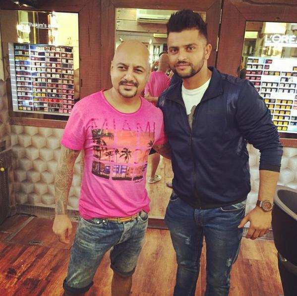Suresh Raina World On Twitter Imraina S New Hair Style Pc