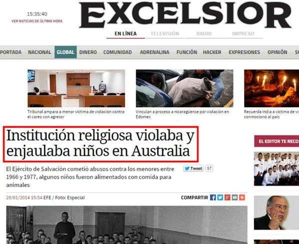 «Institución religiosa violaba y enjaulaba niños en Australia» excelsior.com.mx/global/2014/01… 29/01/2014 #FelizDomingo