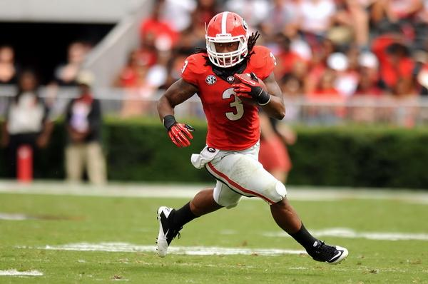 BTW, Todd Gurley still leads the SEC in rushing, despite missing two games and only playing 6 snaps vs. Troy.  #UGA http://t.co/OIAzGpOJCD