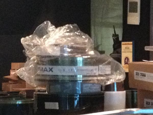 #Interstellar IMAX 70mm reels arriving. Time. To. Get. Hype. http://t.co/ll3YcLVfqV http://t.co/37KpaU2Hj0