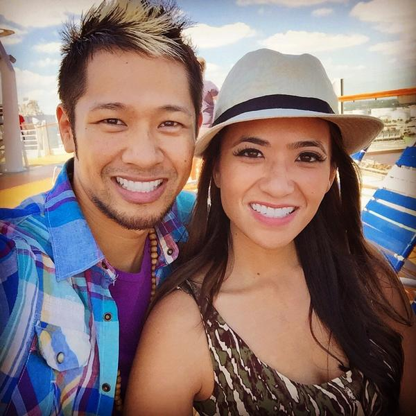 Cruisin' with my love @ShannaMendiola. See ya next week! #GoinDark #AllureOfTheSeas http://t.co/y1UAM6usFY
