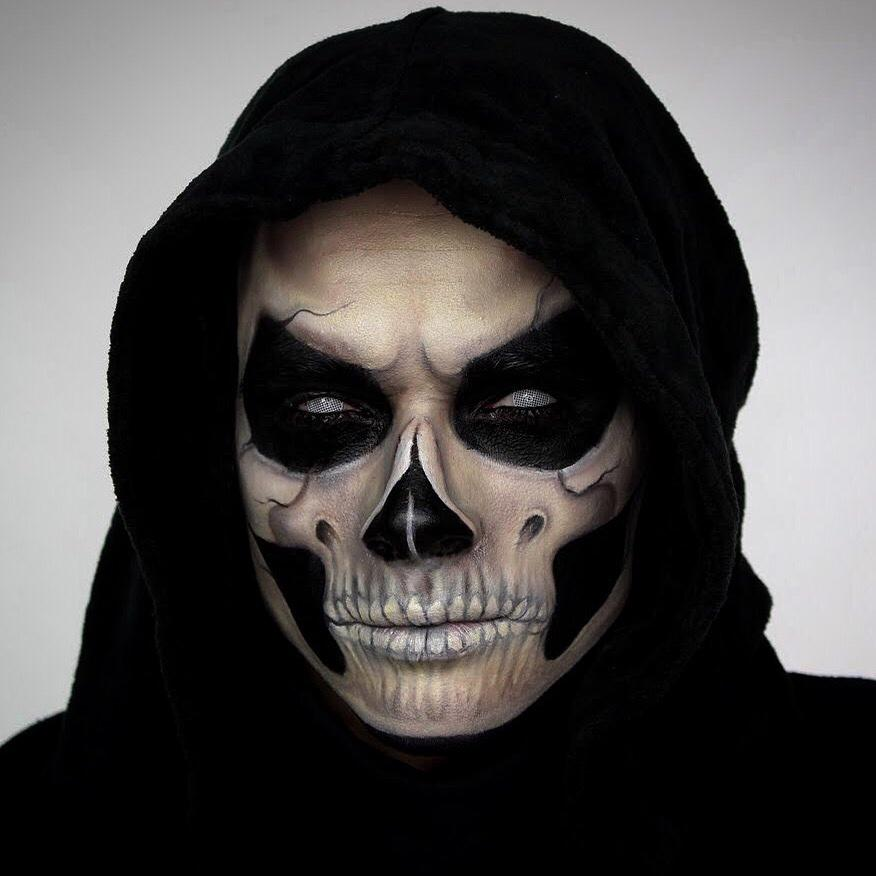 This Grimreaper Makeup