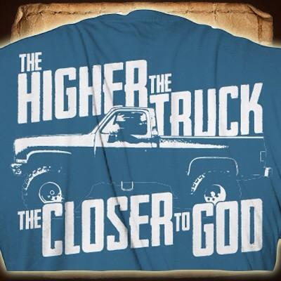 Earl Dibbles Jr On Twitter The Higher The Truck The Closer To God