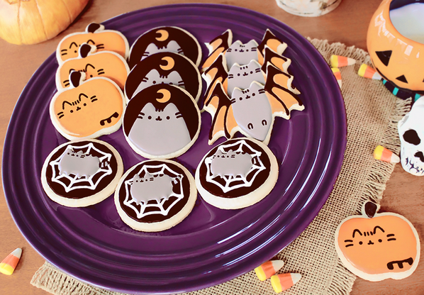 pusheen the cat on twitter halloween pusheen cookie decorating ideas which is your favorite httptcoctj6xnzhs6