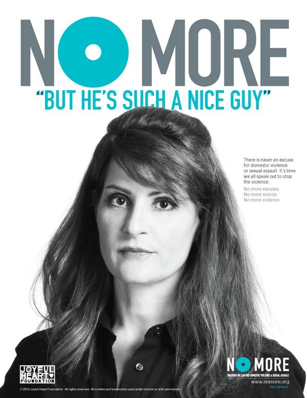 "#NoMoreEXCUSES RT @TheJHF: #NOMORE ""but he's such a nice guy.""One of many reasons victims aren't believed. http://t.co/8OoB0VIuTU"