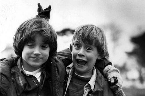 Elijah Wood and Macaulay Culkin, 1993 http://t.co/obbWAorT7O