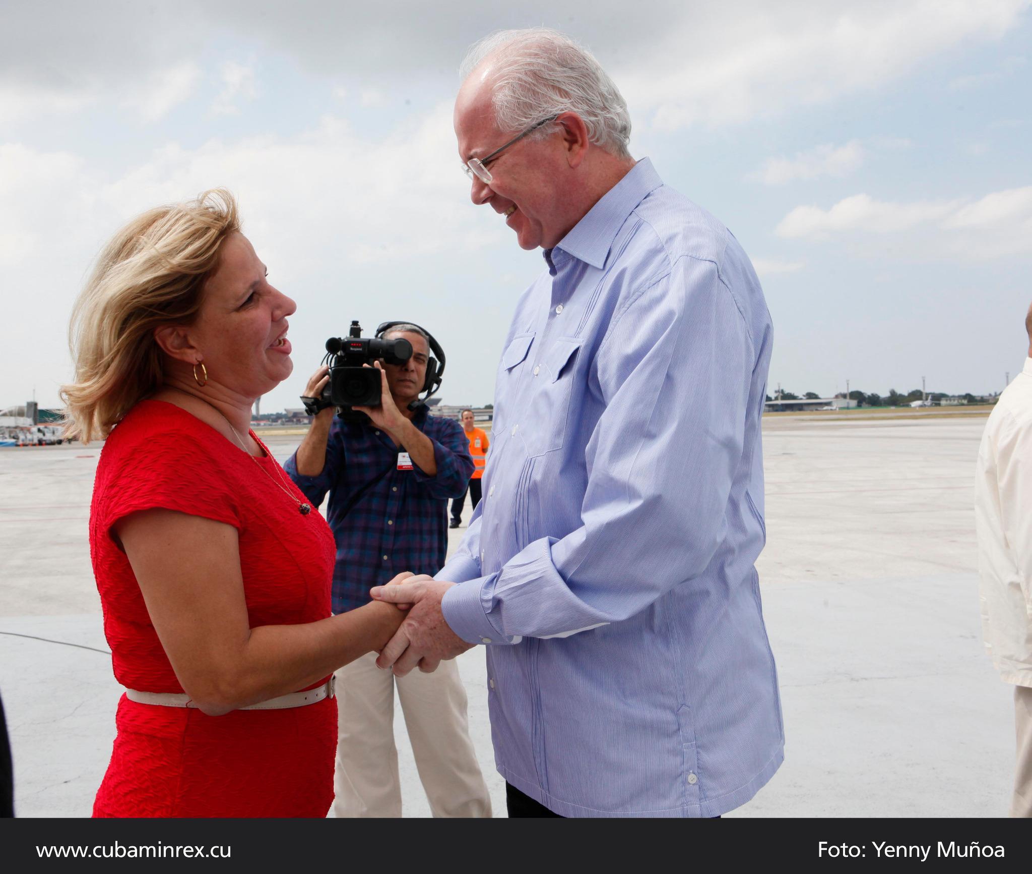 En Cuba, vicepresidente venezolano para cumbre del ALBA-TCP