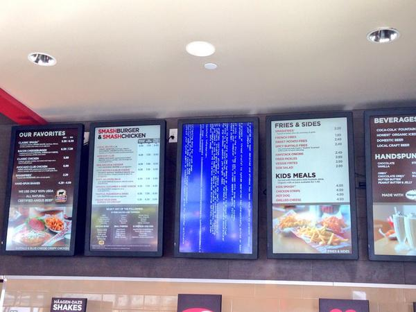 Hate it when the burger menu crashes. http://t.co/SPGge3DzxX