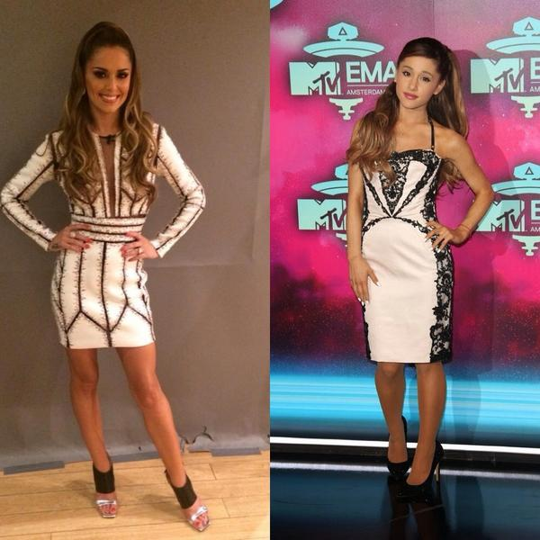 If Cheryl's career fails, she can always be a tribute act as Ariana Grande #xfactor http://t.co/6T8YES6ke5