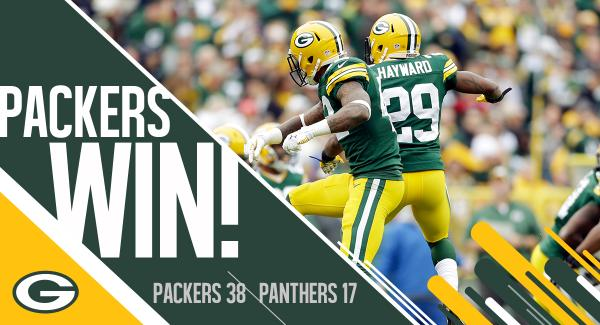 Green Bay Packers On Twitter Packers Win 4th Straight To Improve To 5 2 Carvsgb Recap Http T Co Uio8qagpm0 Http T Co Yudn2tuaul