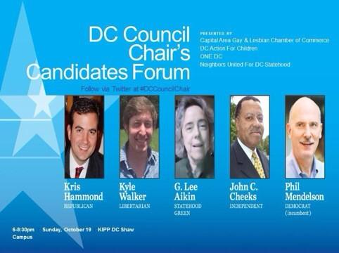 Thumbnail for DC Council chairman candidate forum, 19 Oct 2014
