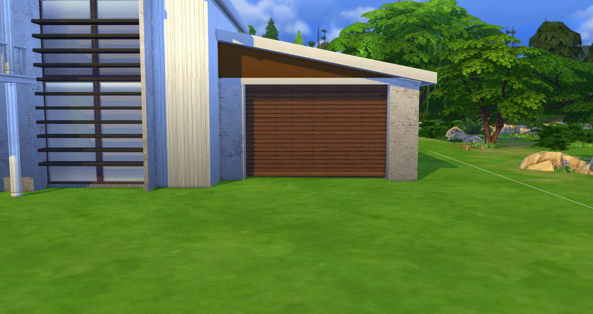 Alex On Twitter Quicktip Use Resized Blinds As Garage Doors In