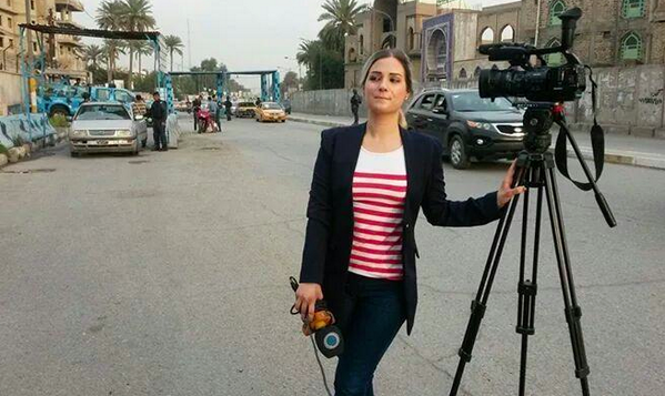 Here is the American journalist, Serena Shim, killed today in Turkey. http://t.co/2inpJ6U4Jt