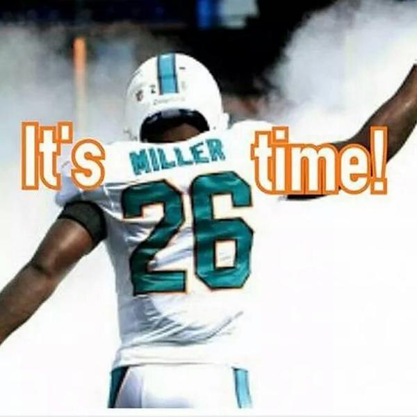 @millertime_6 #PhinsUp #Millertime!  ❤