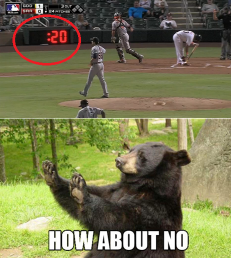 Mlb Memes On Twitter How We All Feel About Pitch Clock Ht San