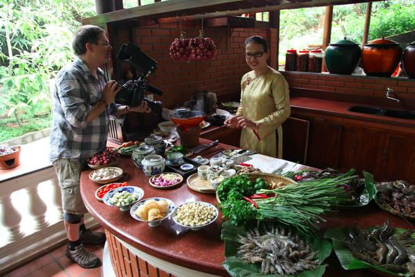 from the kitchen of Boi Tran #PartsUnknown http://t.co/ugEy4dKjYu