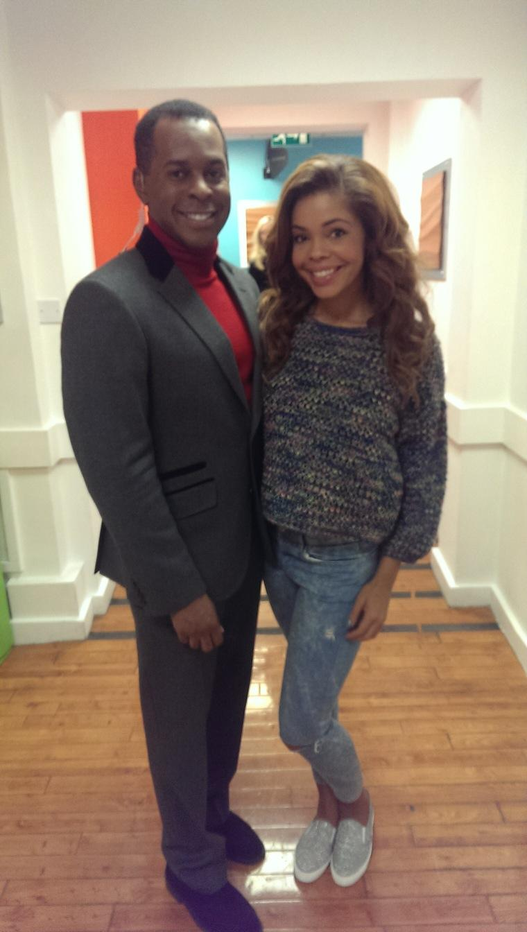 Nice to meet @stephainenala on @GMB today. What a nice lady. @thexfactor #12remain http://t.co/GTtwm29aKf