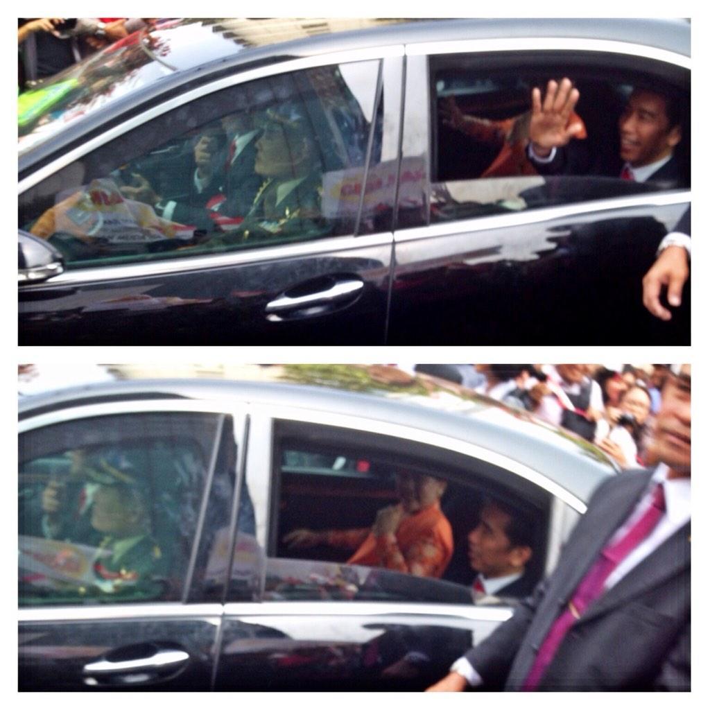 PresidenJokowi dan Ibu Iriana