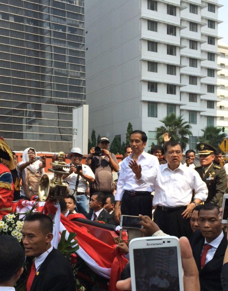 Presiden Jokowi, Wapres Jusuf Kalla
