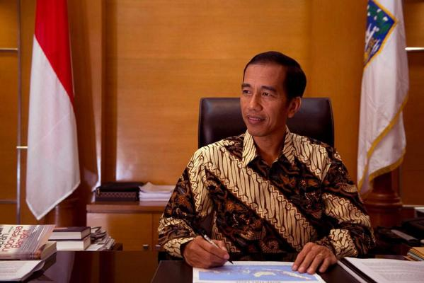 Congratulations to our new president Joko Widodo and vice president Jusuf Kalla. Lead us to a better Indonesia. http://t.co/w1RdbHM9YJ