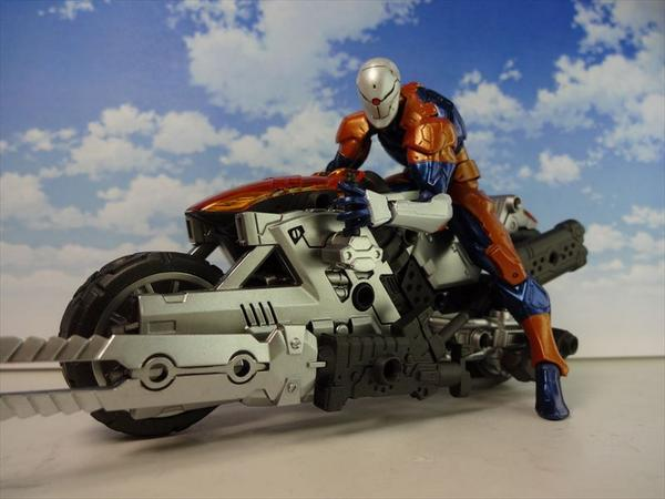 BSに乗せてみました~リボルミニ『サイボーグ忍者』は25日発売!(大) http://t.co/4JtbuEuDBB
