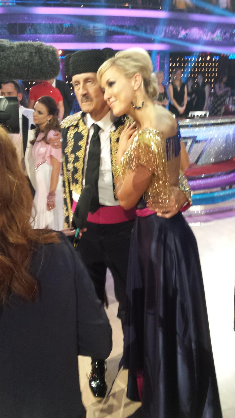 Going to miss my Timmy @TimWonnacott love you x see you on #IIT @bbcstrictly Tonight #scd x http://t.co/xsC8DbX7fu