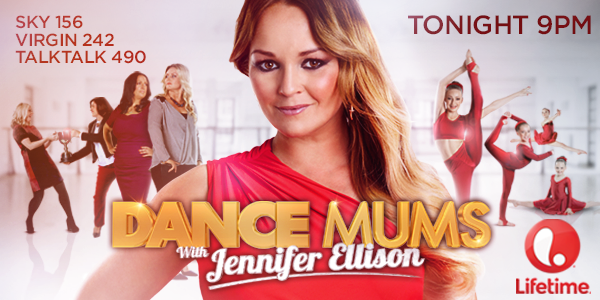 RT @DanceMums: Dance Mums with Jennifer Ellison starts tonight at 9pm!  Don't miss the mother of all dance shows on @LifetimeTelly! http://…