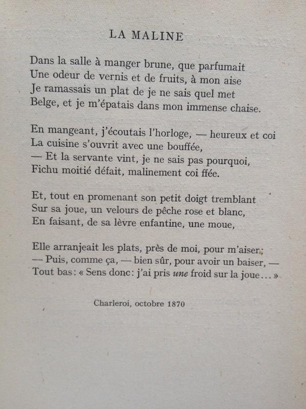 Rimbaud Poems 5