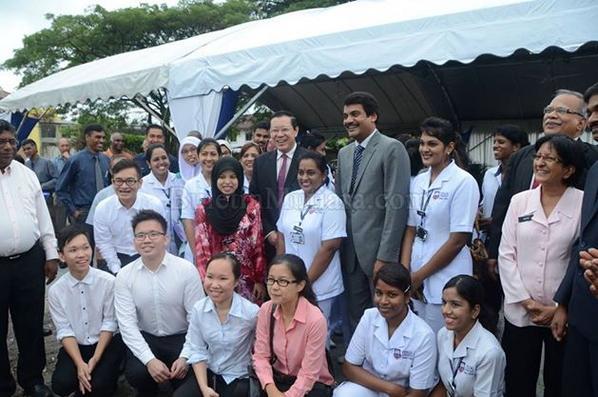 Lim Guan Eng On Twitter Adm Ground Breaking Of Penang International Dental College Https T Co 2ysniiwyoz Http T Co Luvsldofz0