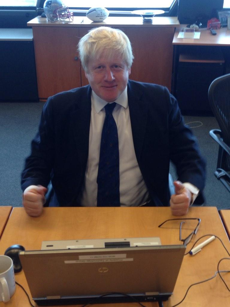 Hi folks - I am ready for your questions. Let's get cracking! Please use #AskBoris http://t.co/PfhjJduSn0