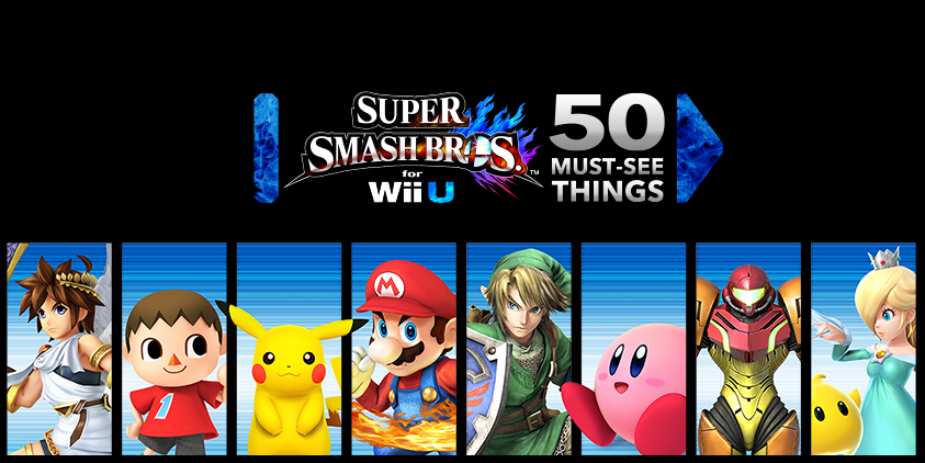 54 điểm độc của Super Smash Bros. Wii U