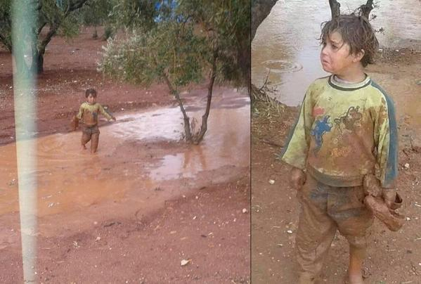 Don't know his full story..he crossed from #Syria to #Lebanon. The sadness in his eyes tho... Fuck the world http://t.co/FVfvdmZTf4