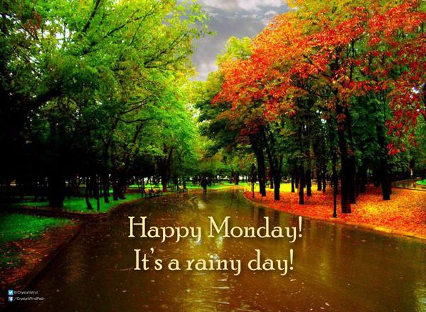 "Crystal Wind™ On Twitter: ""Happy Monday! :) It's A Rainy"