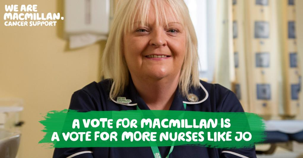 RT @macmillancancer: Do you work for Argos, Homebase or Home Retail group? Vote Macmillan for your charity partner: http://t.co/rTBqZYiBvs …