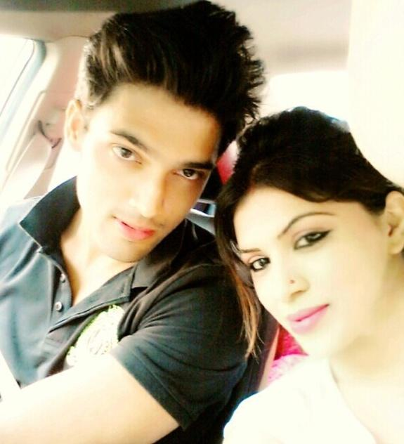 Parth samthaan fc on twitter quot parth with his sister shared by parth