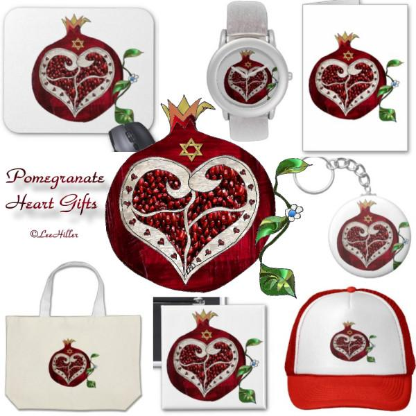 #Judaica #Pomegranate #Heart #Watches #MousePad #Tiles #Cards and More https://t.co/rI5zkyZ04z https://t.co/r6kSaa7Hhn