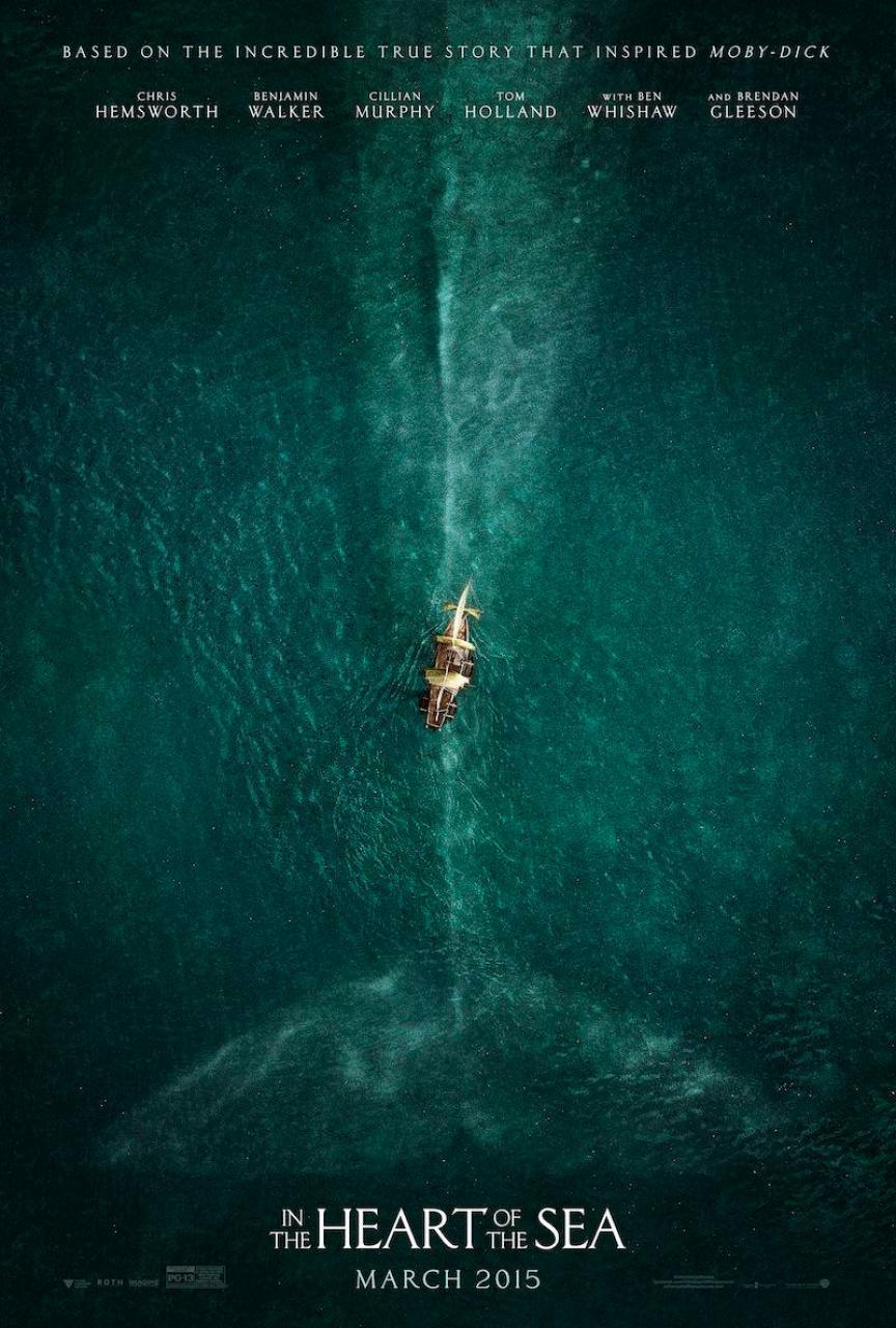 RT @WarnerBrosEnt: Nice RT @natphilbrick: Check out the official movie poster art for IN THE HEART OF THE SEA @wbpictures @RealRonHoward ht…