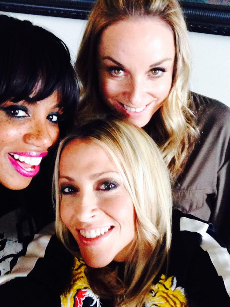 RT @Nicole_Appleton: With my girlies @mouthwaite @ShazAllSaints ...💖💖💖 http://t.co/GmW6NztAKc