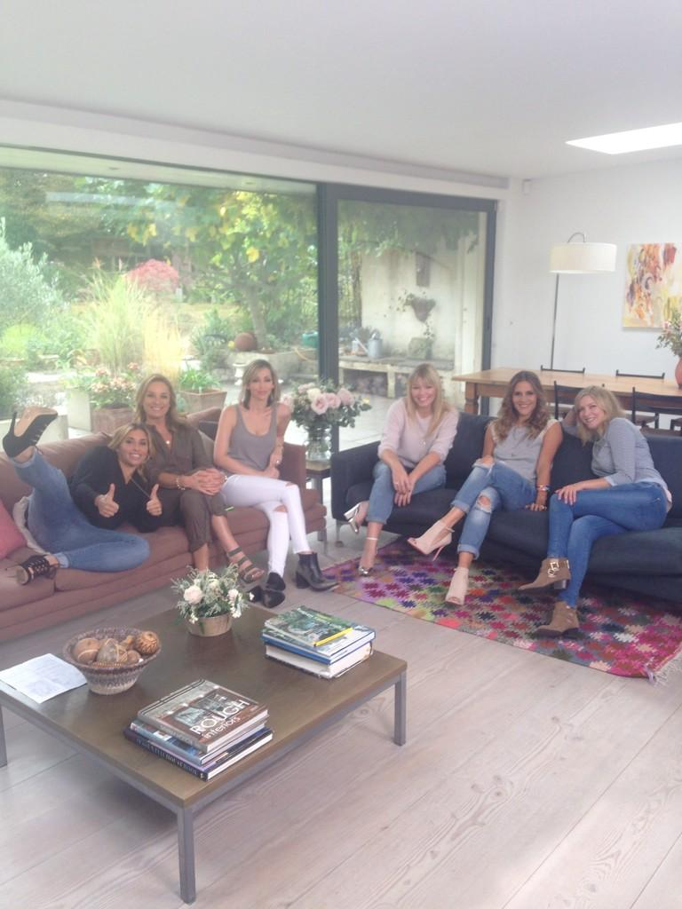 RT @amandabyram1: Some of the Gorgeous girls Im working with 2day... @mouthwaite @NatAllSaints @k8_thornton @lisafaulkner1 @melblatt ❤️ htt…