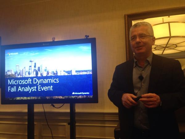 Thumbnail for Microsoft Dynamics at Fall Analyst Event 2014